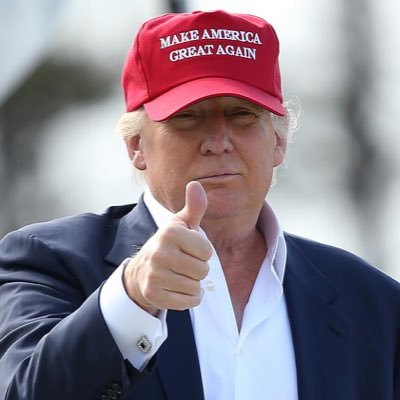 trump thumbs up
